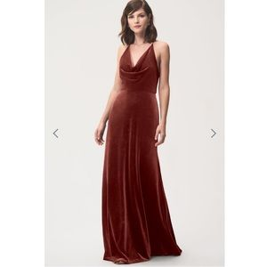 Jenny Yoo Sullivan Dress in Dusty Rose. WORN ONCE